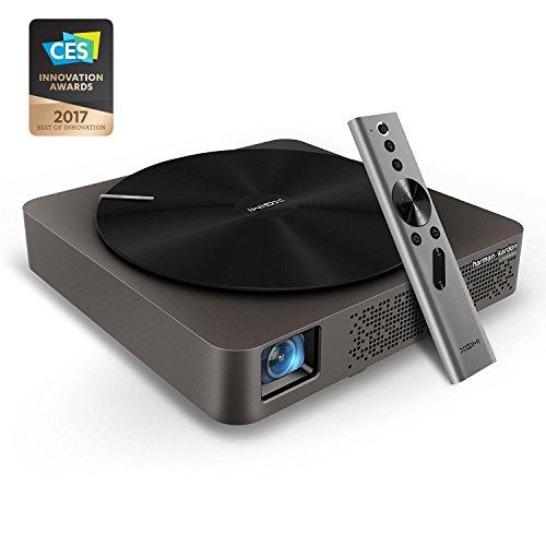 sobietech + xgimi Z4Aurora WXGA HD (4K Compatible) 3d Smart LED proyector con integrado Harmon Kardon altavoz, android Base, built-in WiFi y Bluetooth, Airplay, miracast apoyo