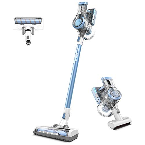 Tineco A11 Tango Cordless Stick Vacuum Cleaner, 120W Strong Suction 2 Powered Cleaner Head for Hard Floor Carpet Car Pet Hair
