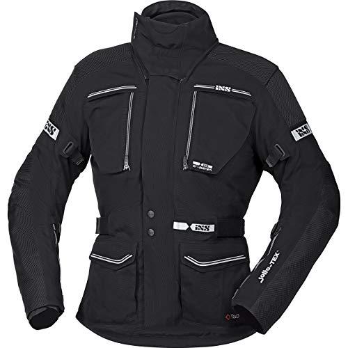IXS Motorradjacke mit Protektoren Motorrad Jacke Traveller-ST Tour Textiljacke schwarz L, Herren, Tourer, Ganzjährig, Polyamid