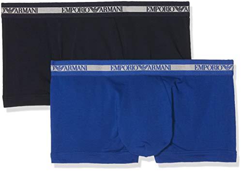 Emporio Armani Underwear Herren 111210 Shorts, Mehrfarbig (Marine/Mazarine 55035), Large