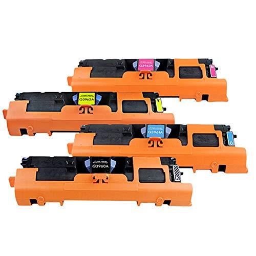 Q3960A Q3961A Q3962A Q3963A cartucho de tóner de color, 2550L 2550LN 2550N 2820 2840 cartucho de tóner de impresora 122A cartucho de tinta, compatible con la impresora láser color HP Color LaserJet