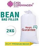 Casa Copenhagen 2 Kg Bean Bag Refill/Filler - Vanila Super White
