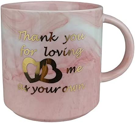 UniLiGis Coffee Mug Gift Thank You for Loving Me As Your Own Gifts for Mom Stepmother Women product image