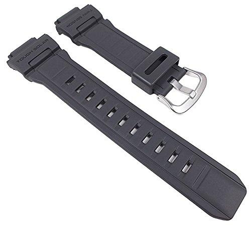 Casio Uhrenarmband Resin Band Anthrazit Ersatzband für G-9300 G-9300GY