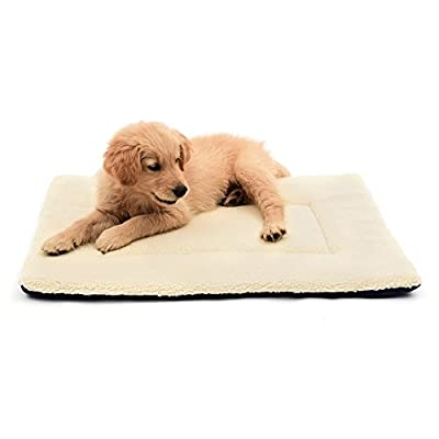 DERICOR Dog Bed Dog Crate Bed Plush