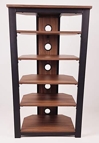 Gecko Tower TOW600 Hi-Fi-Regal (6 Fächer, Holz)