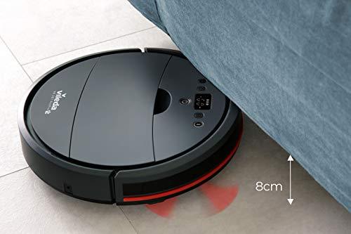 Vileda VR 201 PetPro Saugroboter (optimiert für Tierhaare, 90 Minuten Laufzeit), Kunststoff, dunkelgrau, 32 x 8 cm - 6
