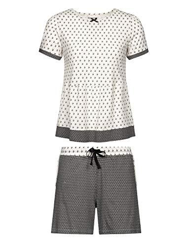 Vive Maria La Fillette Douce Short Pyjama Cream Allover/Black allov, Größe:XS