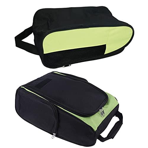 shiftX4 Bolsas para zapatos de golf, para viajes, hogar, a prueba de polvo, transpirable, resistente al desgaste y duradero