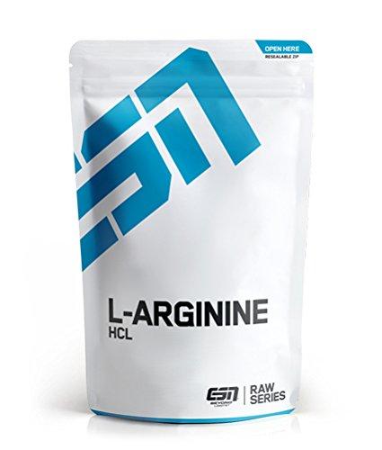 ESN L-Arginine HCL – 500 g – biologisch stabiles L-Arginin HCL-Pulver – 166 Portionen – vegan – Made in Germany