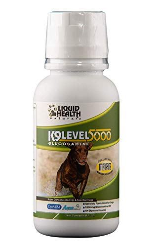Liquid Health K9 Level 5000 Glucosamine Chondroitin Opti MSM 8 oz