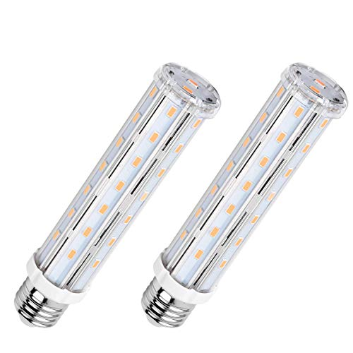 AsapGot 2 x 15W E27 LED Mais Birne Warmweiß 2700K Nicht Dimmbar Ersatz für 120W Glühlampe 1500 Lumen 360° Abstrahlwinkel 44 x 5730SMD LED Leuchtmittel E27 Energiesparlampe Super Hell LED Lamp E27