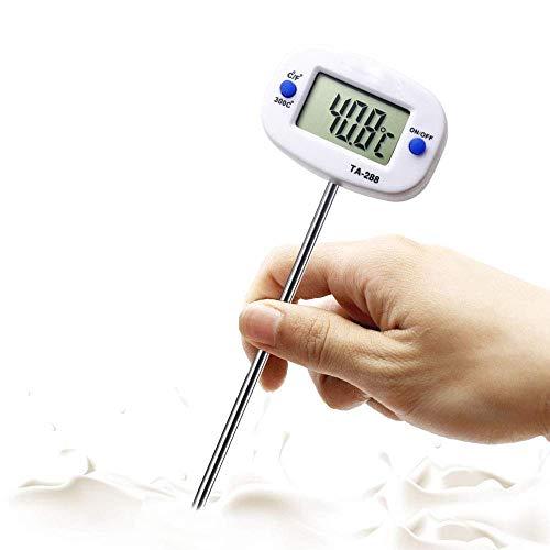 Baiyi roestvrijstalen sonde-thermometer, elektronische digitale grilltemperatuur-test-gereedschap