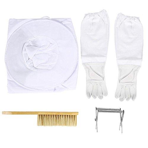 Disfraz de Apicultura, disfraz de vela bata de Apicultura include marco colmena, guantes, cepillo de Abeja etc. elefante equipo herramienta
