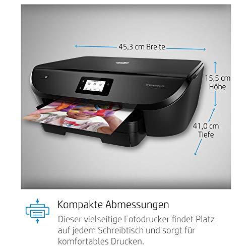 HP Envy Photo 6230 Multifunktionsdrucker (Instant Ink, Drucken, Scannen, Kopieren, WLAN, Airprint) inklusive 6 Monate Instant Ink