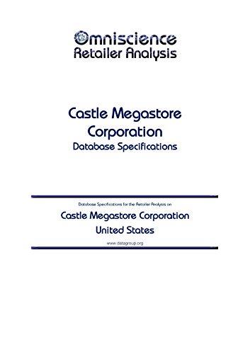 Castle Megastore Corporation - United States: Retailer Analysis Database Specifications (Omniscience Retailer Analysis - United States Book 19499) (English Edition)
