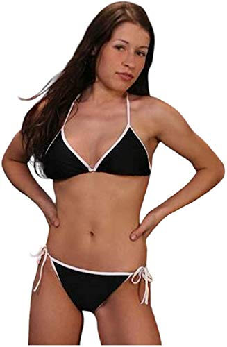 STANTEKS damesbadpak triangelbikini tweedelig zwempak klassieke bikini zwemkleding neckholder bikini SK0031