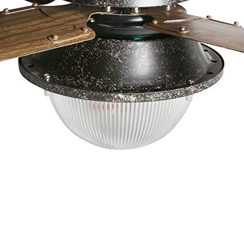 【Amazon.co.jp限定】ハモサ(Hermosa)暖房関連グッズブラックサイズ:W1065×H465(mm)ヴェニスシーリングファン42インチブラックCF42-003BK