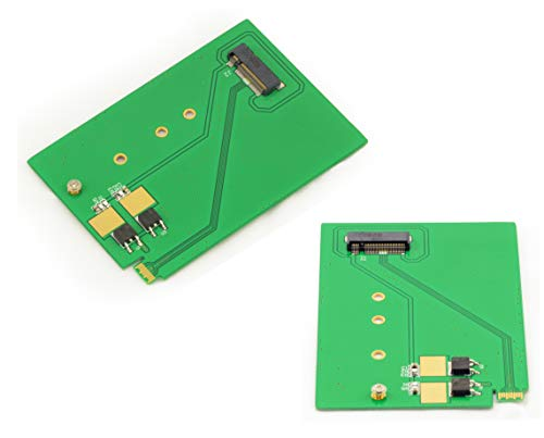 Kalea Informatique Konverter M.2 (M2 NGFF Typ SATA) auf UltraSlim SFF-8784 (SATA 3.0 6GBps)