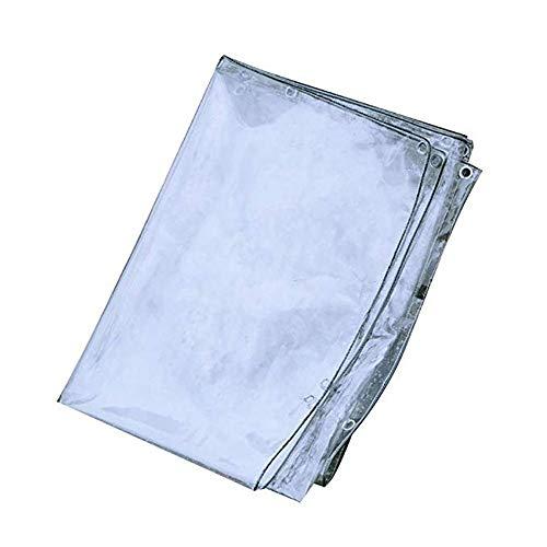 WXQIANG Lona impermeable resistente con ojales, tela impermeable para refugio de lluvia al aire libre, barco, RV o piscina, protección solar, aislamiento térmico, tamaño 1,2 x 3 m.