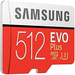 Samsung Memory MB-MC512GAEU 512 GB Evo Plus Micro SD Card with Adapter