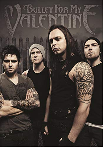 Bullet For My Valentine Poster Flag Band Flag with Picture