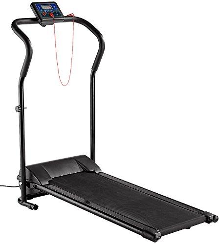 newgen medicals Laufband klappbar: Laufband LF-203.Mini mit 3 Sport-Programmen, zusammenklappbar (Laufband Mini)