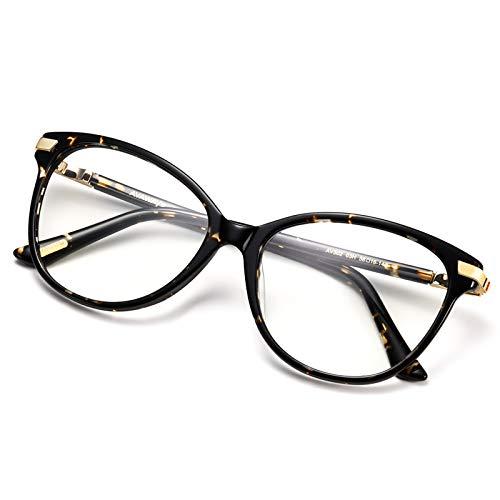 AVAWAY Fashion Polarisierte Damen Sonnenbrille Blaulichtfilter Brille UV400 Schutzbrille, Acetat Rahmen