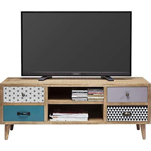 TV-meubel, natuurlijk hout Kare, 38 cm x 118 cm x 47 cm