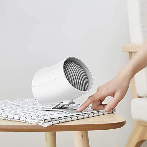 Kotee Enfriador USB de escritorio cama Estudiante Ventilador Clip tipo recargable ventilador portátil Silencio portátil Oficina de escritorio del ventilador eléctrico del cochecito de bebé de 2 veloci
