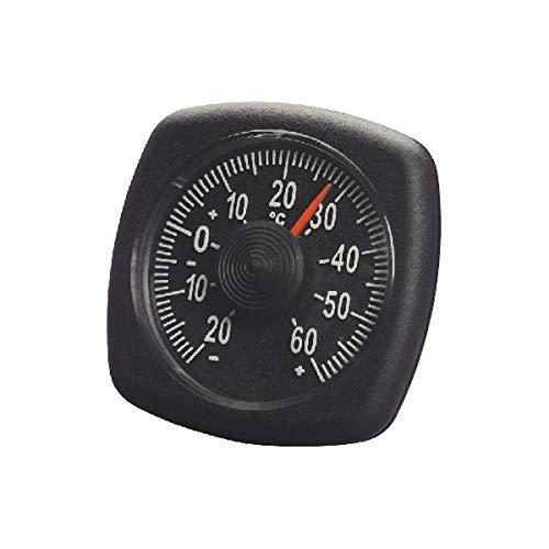 hr-imotion 4580 interne thermometer retro design voor auto, thuis, camping, enz. 5 jaar garantie zelfklevend Made in Germany - 20 ° C - + 60 ° C