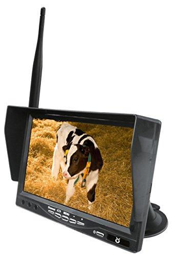 Kerbl 322082 LCD Ersatzmonitor, 7 Zoll