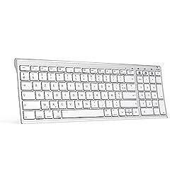 UNIQUEMENT pour Mac OS / IOS : Ce clavier sans fil Bluetooth est conçu uniquement pour MacBook / iPad / iPhone / iMac, fonctionne parfaitement avec Mac OS (Attention : Mac OS X 10.15 ou supérieur) / iOS , merci de bien vérifier votre système d'exploi...