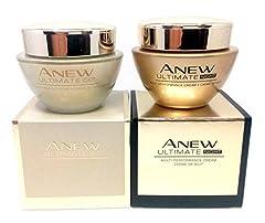 AVON Anew Ultimate Multi-Performance 45+ Day Cream SPF 25 : 50ml - 1.7oz Night Cream : 50ml - 1.7oz Day & Night SET !