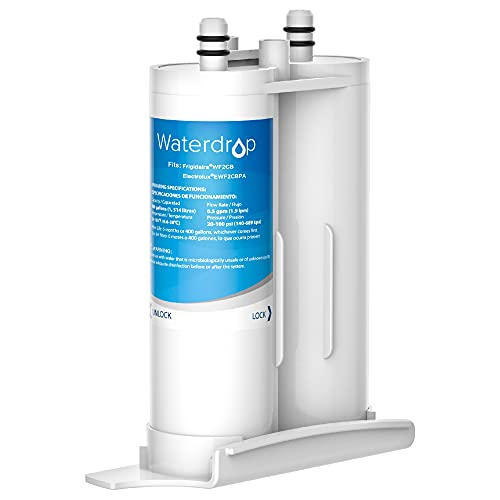 Waterdrop PureSource2 Water Filter, Compatible with WF2CB, NGFC2000, FC100, Kenmore 9916, 469916, EWF2CBPA, 1004-42-FA (Package may vary)