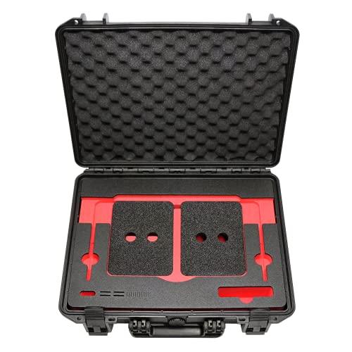 Wasserdichter Laptop Notebook Koffer/Tasche mit funktionellem Inlay für Apple MacBook Pro 16