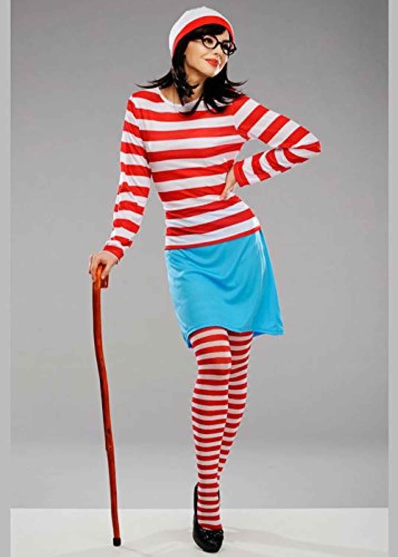 centro comercial de moda Disfraz de Wally Wenda de Wheres para Mujer Adulta Medium Medium Medium (UK 12-14)  al precio mas bajo