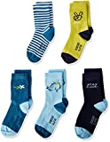Schiesser Jungen Socken, 5er Pack, Mehrfarbig (Sortiert 1 901), Gr. 19-22
