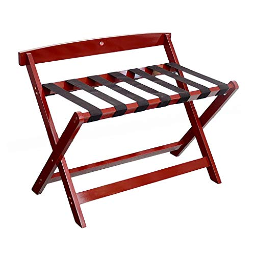 Check Out This GDXLJ Folding Luggage Rack Hotel Foldable Luggage Rack, Room Bedside Suitcase Travel ...