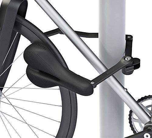 SeatyLock Trekking Heavy Duty Drill Resistant Anti-Theft Bicycle Hybrid Saddle Lock Chameleon Black