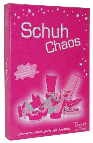 Tussi on Tour Trinkspiel Schuh Chaos 24 verschiedene Motive pink