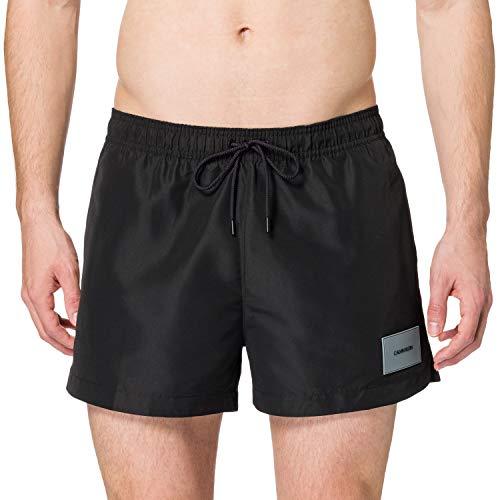 Calvin Klein Short Drawstring Baador para Hombre, Pvh Negro 2, M