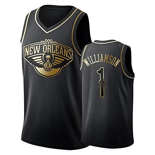 Zion Williamson - Camiseta de baloncesto para hombre, diseño de pelícanos 1# 2021