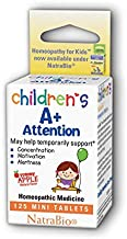 A+ Attention Herbs For Kids 125 Chewable