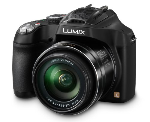 Panasonic LUMIX DMC-FZ70 16.1 MP Digital Camera (Black)