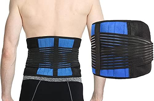 Rrückenbandage mit Stützstreben und Verstellbare Zuggurte Rücken Gurt, Rückenstütze Lendenwirbel Orthopädische Rückenstützgürtel, Lendenwirbelstütze Arbeit...