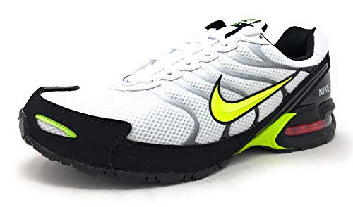 Nike Air Max Torch 4 Mens Running Shoe White/Volt-Black, Size 11 US