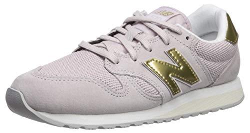 New Balance Damen 520 Sneaker, Pink (Light Cashmere/Classic Gold Gdc), 39 EU