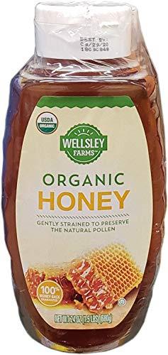 Wellsley Farms Organic Honey, 3 Pk./24 Oz. Net Wt 72 Oz,, ()