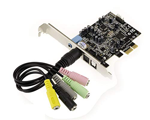 KALEA-INFORMATIQUE © - Carte Contrôleur PCIe (PCI EXPRESS) - SON 7.1 CANAUX - CHIPSET CMEDIA OXYGEN HD AUDIO CM8826 - ENTREE ET SORTIE SPDIF